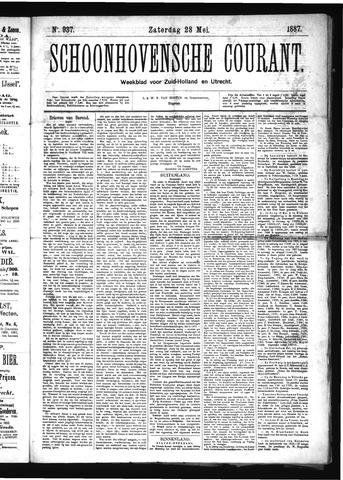 Schoonhovensche Courant 1887-05-28
