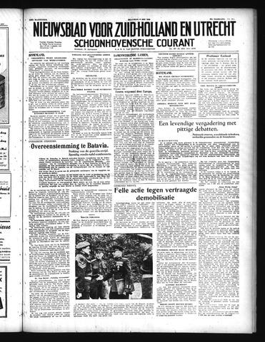 Schoonhovensche Courant 1949-05-09
