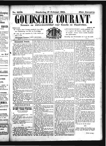 Goudsche Courant 1910-02-17