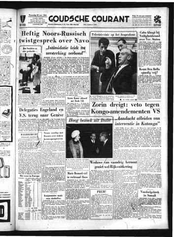 Goudsche Courant 1961-11-22