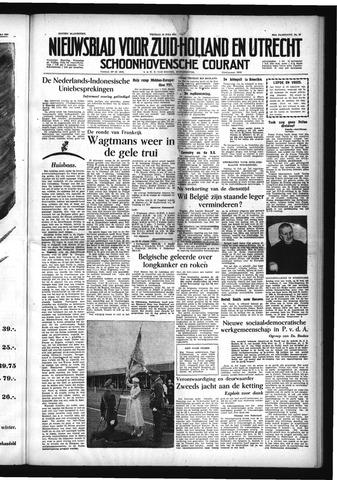 Schoonhovensche Courant 1954-07-16