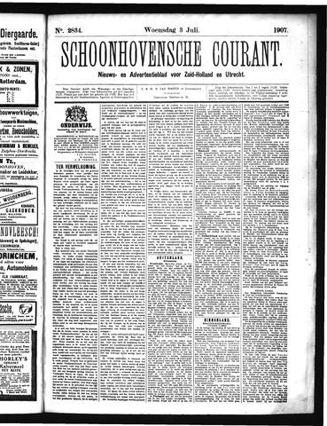 Schoonhovensche Courant 1907-07-03