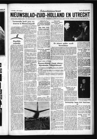 Schoonhovensche Courant 1960-08-17