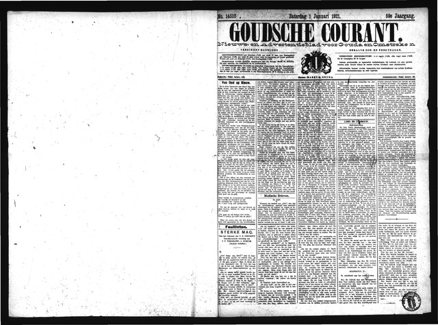 Goudsche Courant 1921-01-01