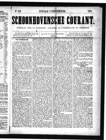 Schoonhovensche Courant 1873-09-07
