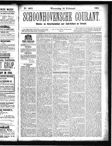 Schoonhovensche Courant 1904-02-10