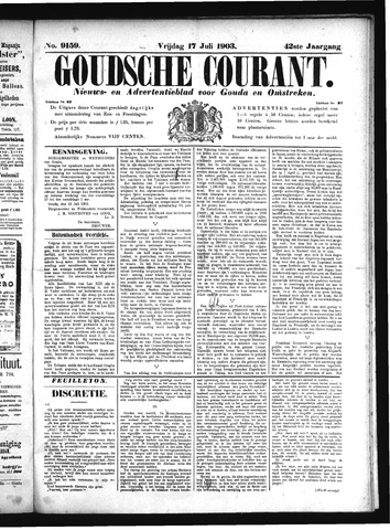 Goudsche Courant 1903-07-17