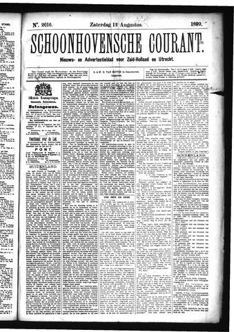 Schoonhovensche Courant 1899-08-12
