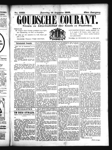 Goudsche Courant 1909-08-14