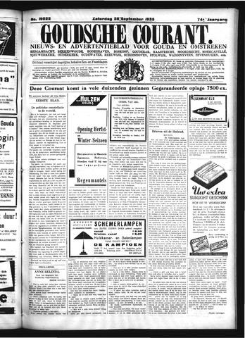Goudsche Courant 1935-09-28
