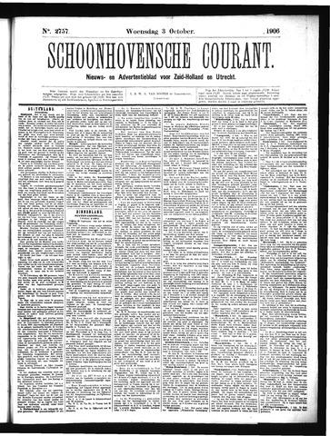 Schoonhovensche Courant 1906-10-03