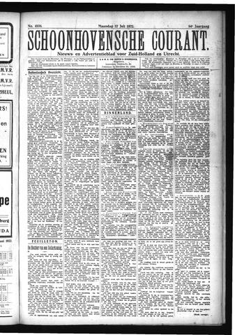 Schoonhovensche Courant 1922-07-17
