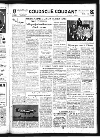 Goudsche Courant 1950-11-08
