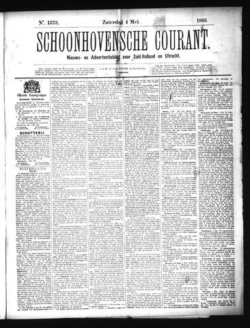 Schoonhovensche Courant 1895-05-04