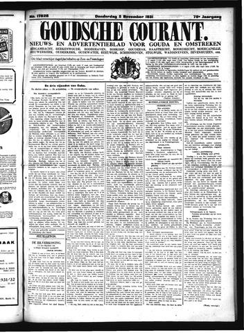 Goudsche Courant 1931-11-05