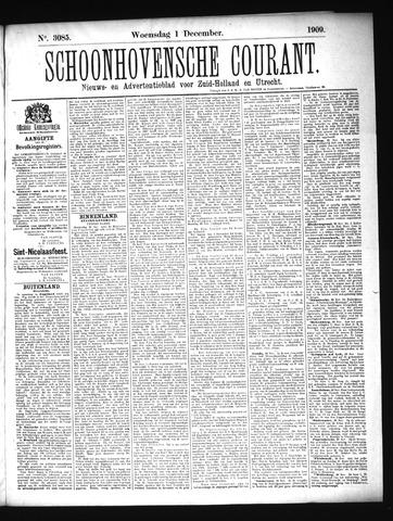 Schoonhovensche Courant 1909-12-01