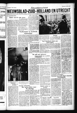 Schoonhovensche Courant 1962-02-12