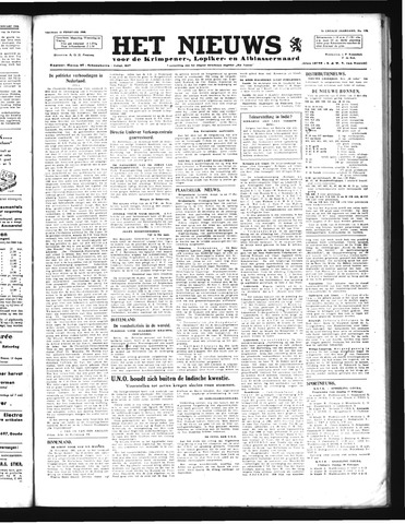 Schoonhovensche Courant 1946-02-15