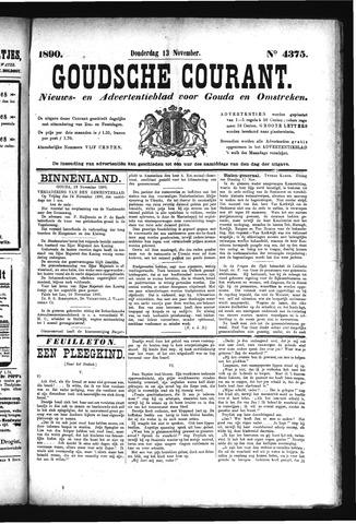 Goudsche Courant 1890-11-13