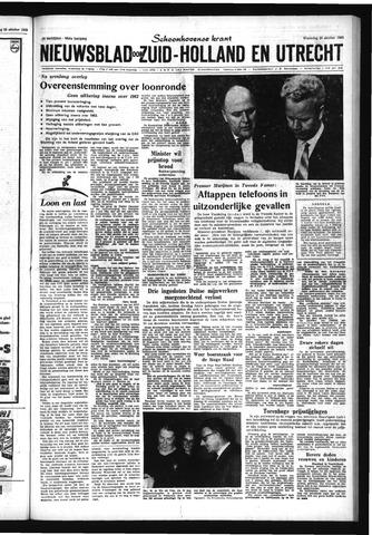 Schoonhovensche Courant 1963-10-30