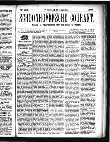 Schoonhovensche Courant 1899-08-23