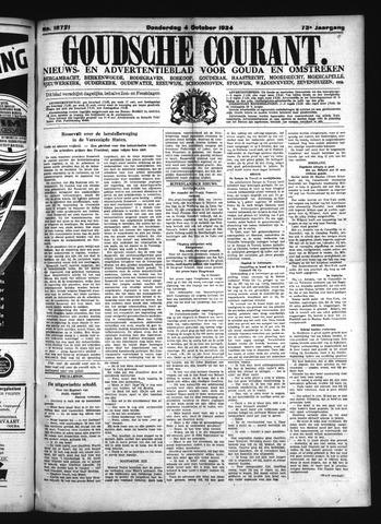 Goudsche Courant 1934-10-04