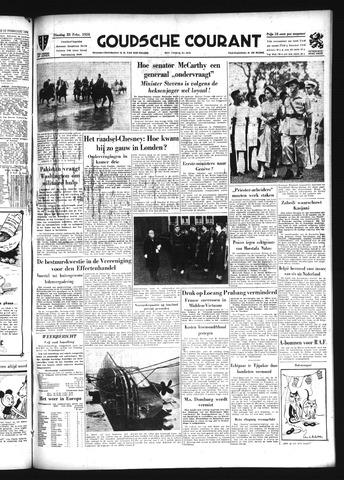 Goudsche Courant 1954-02-23
