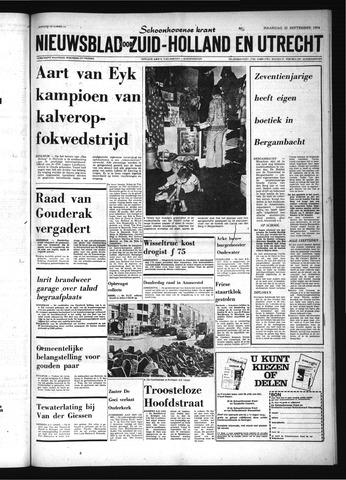 Schoonhovensche Courant 1974-09-23