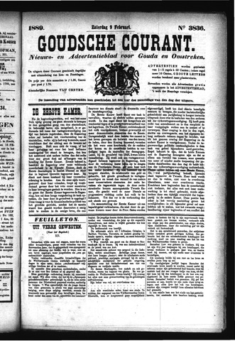 Goudsche Courant 1889-02-09