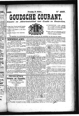 Goudsche Courant 1889-10-30