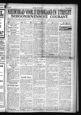 Schoonhovensche Courant 1928-06-25