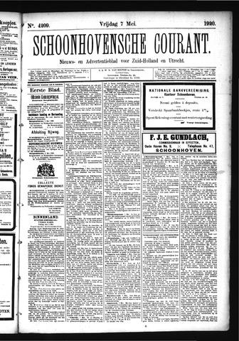 Schoonhovensche Courant 1920-05-07
