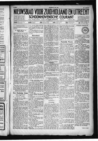 Schoonhovensche Courant 1930-07-28
