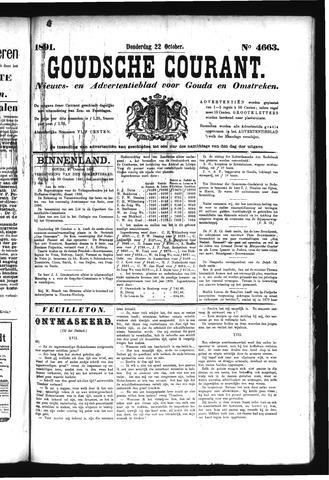 Goudsche Courant 1891-10-22