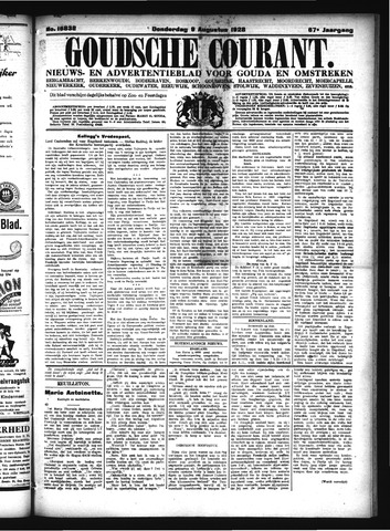 Goudsche Courant 1928-08-09