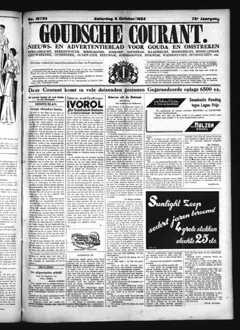 Goudsche Courant 1934-10-06