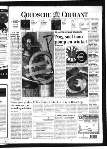 Goudsche Courant 2001-12-31