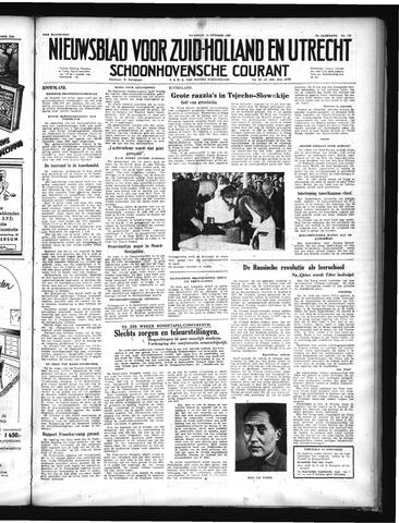 Schoonhovensche Courant 1949-10-10