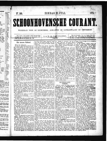 Schoonhovensche Courant 1872-07-21