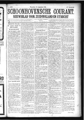 Schoonhovensche Courant 1925-08-10