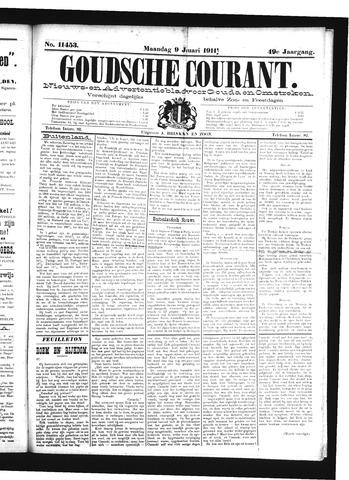 Goudsche Courant 1911-01-09