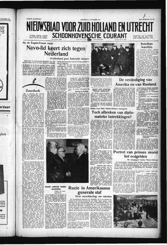 Schoonhovensche Courant 1957-11-27