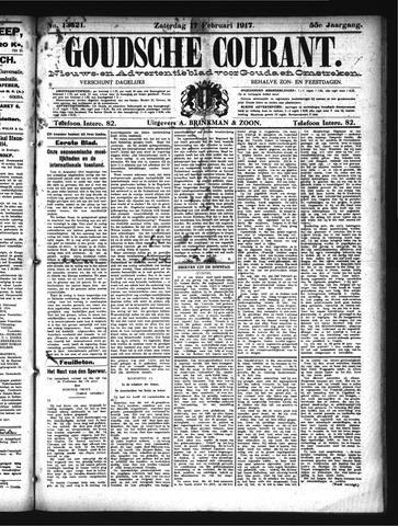Goudsche Courant 1917-02-17