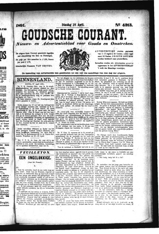 Goudsche Courant 1891-04-28
