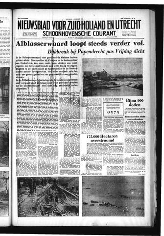 Schoonhovensche Courant 1953-02-04