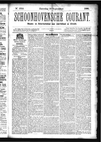 Schoonhovensche Courant 1896-09-12