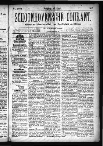 Schoonhovensche Courant 1916-06-23