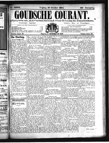 Goudsche Courant 1914-10-16
