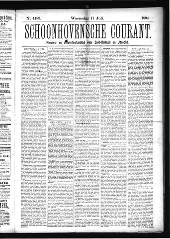 Schoonhovensche Courant 1894-07-11