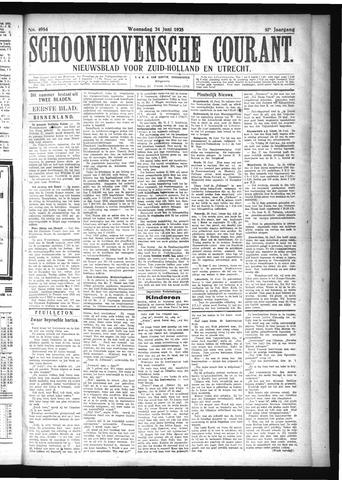 Schoonhovensche Courant 1925-06-24